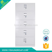 Office Furniture Metal Storage Filing Cabinet / Knocked Down Filing Cabinet