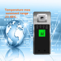Automatic infrared thermometer for human induction