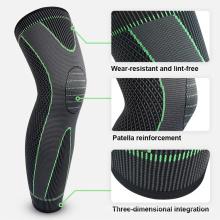 Wholesale Unisex Sports Knee Pads Football Mountain Climbing Warm Knitted Nylon Knee Pads
