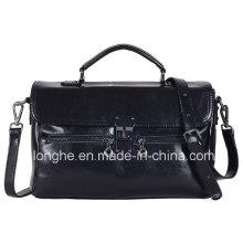 Doble-Zippers cerradura de la cerradura bolso de la señora (LY0076)