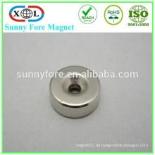 Magnet mit Schraubloch