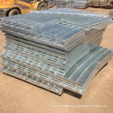 Factory Irregular Shape Metal Building Matarials Welded Plug in Steel Grating for Construction Platform