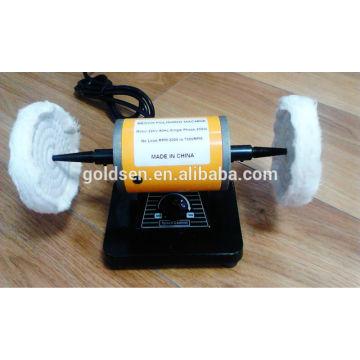 Power Hobby Mini Bank Polierer Puffer Maschine Tragbare elektrische Schmuck machen Werkzeuge