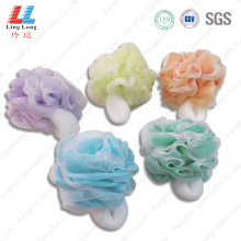 Handle mesh shank bath ball