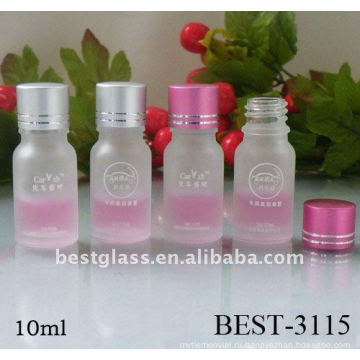 Скраб 10мл стеклянная бутылка с пластиковой пробкой и цвет крышки