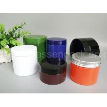 Haustier-Plastikkosmetik-Gläser in den festen Farben (PPC-81)
