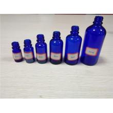 5ml, 10ml, 20ml, 30ml, 50ml, 100ml Blaue Farbe Flüssigkeit Aroma Glas ätherisches Öl Flasche (KLC-1)