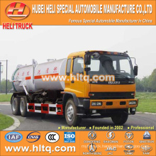 Japan technology FVZ cab 6x4 vacuum suction and pressure washing truck 280HP