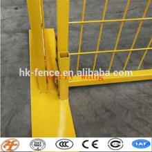 Австралия/Канада/Америка стандартный Сварной temprary забор стоит бетонный завод