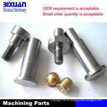 Часть CNC подвергая механической обработке, часть машины (MP2014)