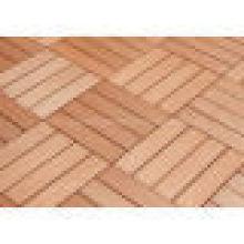 Garden Design WPC DIY Decking Tiles Wood Plastic Composite Flooring