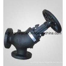 Válvulas de Globo de Asiento Resilientes estándar de hierro fundido DIN