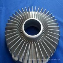 Turbine de turbine de moulage de précision en acier inoxydable (pièces d'usinage)