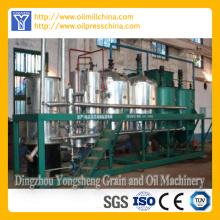 Línea de refinación de aceite de semilla de girasol de acero inoxidable
