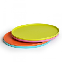 Eco Bamboo Fiber Pizza Tray (BC-T1002)