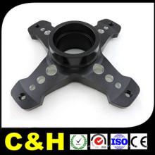 Aluminium anodisé personnalisé / acier inoxydable / plastique / laiton Precision CNC usinage Fraisage