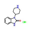 Cas6961-12-2 1-(piperidin-4-yl)-1,3-dihydro-2H-benzo[d]imidazol-2-one hydrochloride