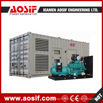 Ce ISO9001 1200kw Outstanding Quality 40hq Container Diesel Generator Set