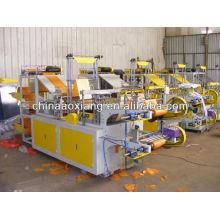 Computer control rolling T-shirt & flat bag making machine flower bag making machine