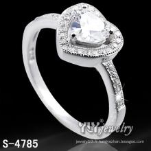 Anneau d'amour de femme en forme de 925 Sterling Silver (S-4785)