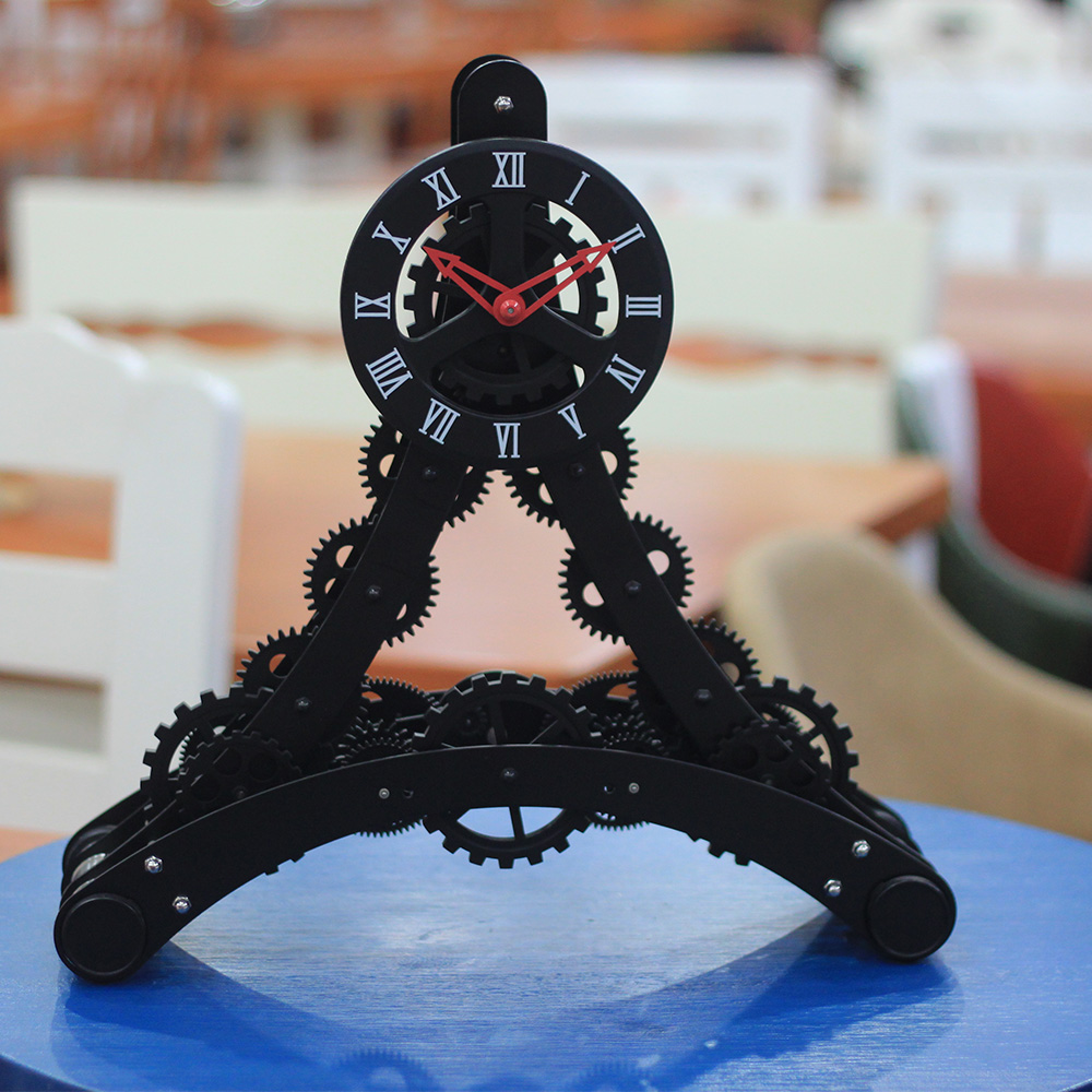 Skeleton Movement Wall Clock With Gears
