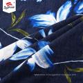 Rayonne imprimée Spandex motif fleur