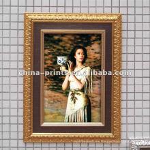 Shabby Marco de madera de lienzo impresiones de lienzo