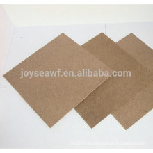 best quality good price smooth hardboard dark brown color