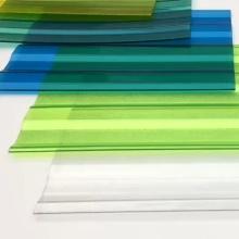 NILIN  Greenhouse uv clear plastic transparent corrugated