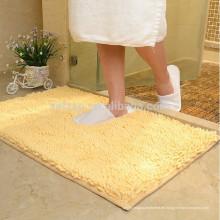 badezimmer luxus microfiber chenille shaggy bad teppich
