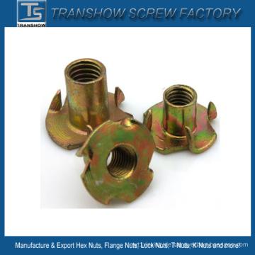 DIN1624 M3 bis M16 verzinktem Stahl T-Mutter