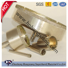 Electroplated Diamond Core Drill Bits for Granite Marble Glass