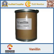 Natürliches organisches Vanillin und Vanille-Puder