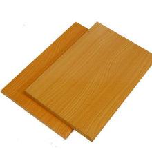 MDF de madera de melanina Ply de madera contrachapada de haya