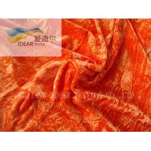 Fashion miscellaneous fleece/velvet fabric for home-textile,100% polyester