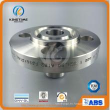 Reborde forjado del tubo del cuello de la soldadura del bastidor del acero inoxidable del ANSI DIN (KT0343)