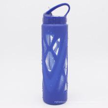 Portable Travel Glas Wasserflaschen mit Stroh