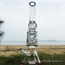 Noah's Ark Shape Design Glass Pipes à eau fumante (ES-GB-288)