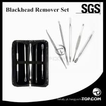 Extrator de Acne Pimple Acne Extractor Tool Melhor Comedone Removal Kit