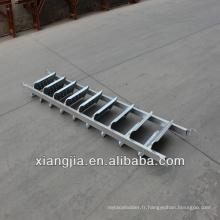 escalier en acier de système d'escalier de cuplock