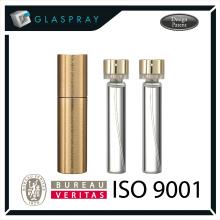 LUNA CNC 20ml Alumínio Alloy Twist up Refillable Perfume Packaging