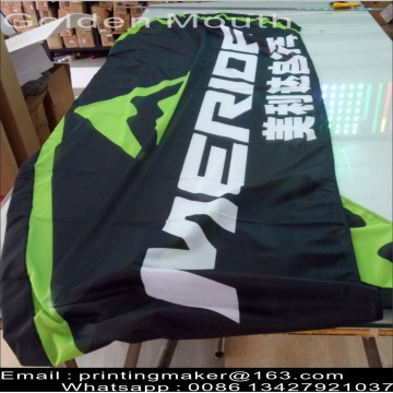 Bendera Bulu Bahu Double Sided Beach