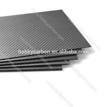 FPV Drone HCG009 Hohe Qualität 4,5x400x500mm Carbon Glas Twill Matte Platte / Blatt Preis Hersteller für Schneidemaschine