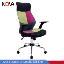 Office furniture fancy fabric seat rotating luxury executive chair for staff for fat people