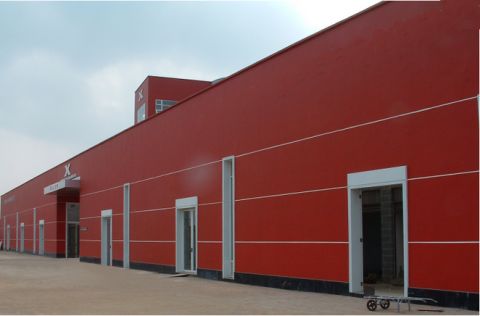 Steel Warehouse for Factories