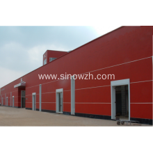Prefabricated Camp Steel Warehouses