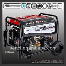 8000 Watt SC9000-I 50Hz Einphasen-Benzin Tragbarer Generator