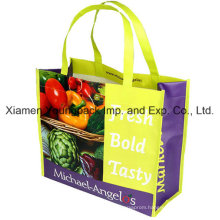 Custom Printed Matt Laminated Non-Woven PP Reusable Bag