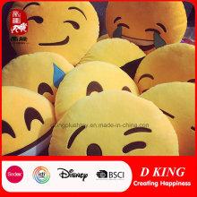 Almohada de Emoji de peluche Juguetes de peluche Grin Emoji Pillow
