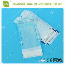 medical Sterilization Flat Reel Pouch/Self seal sterilization pouches